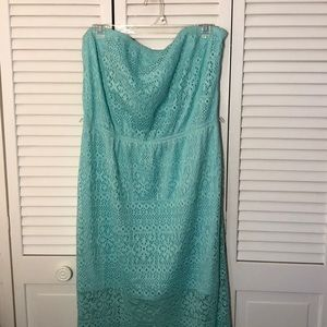Women's XL 15-17 strapless dress